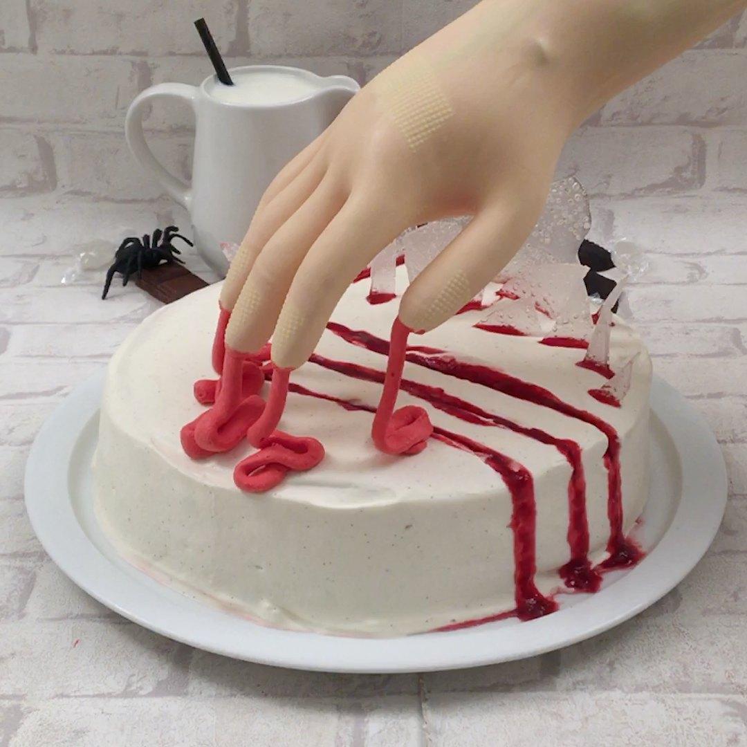 Gâteau cauchemar en cuisine