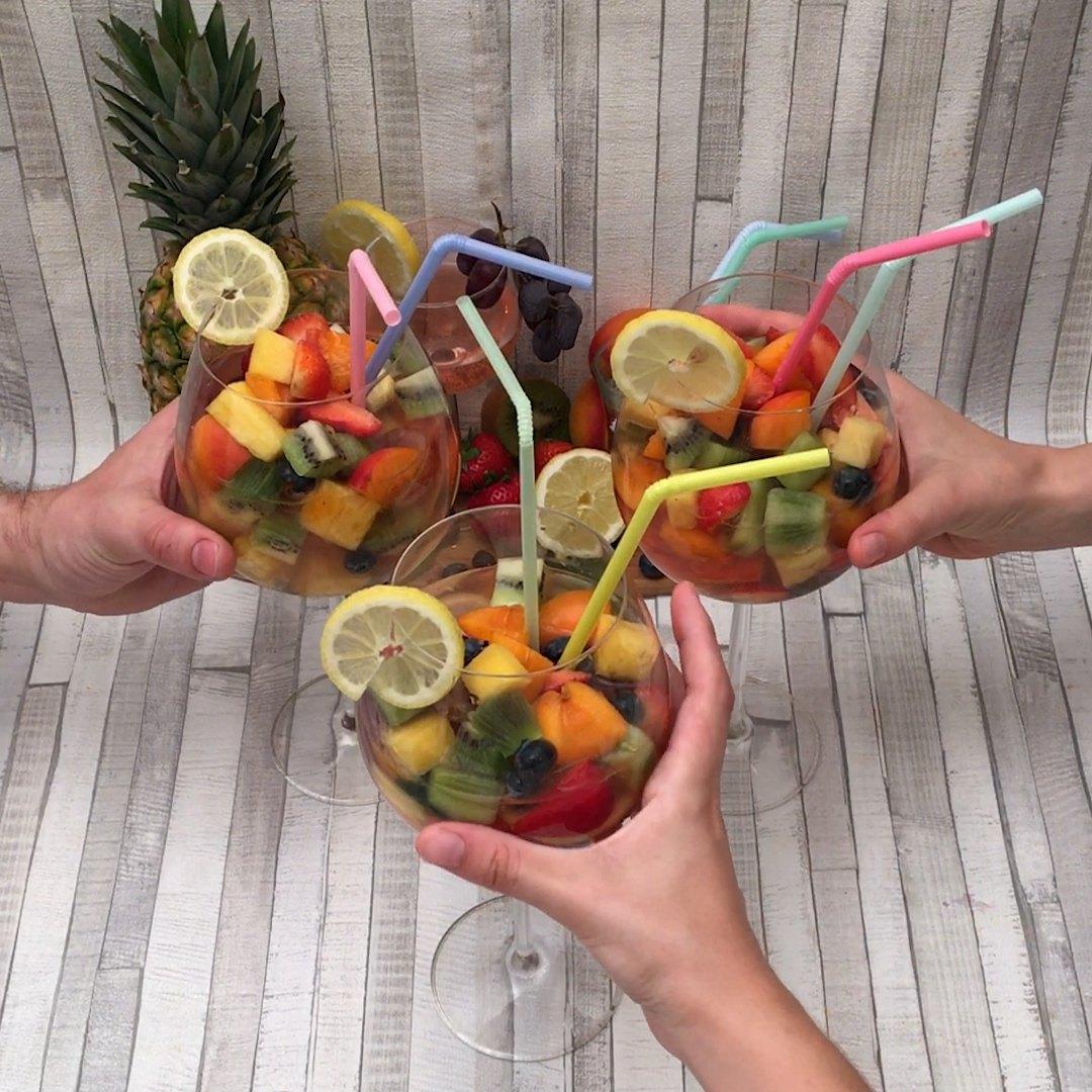 Receta Sangría Al Vodka En Chefclub Cocktails Chefclub Tv