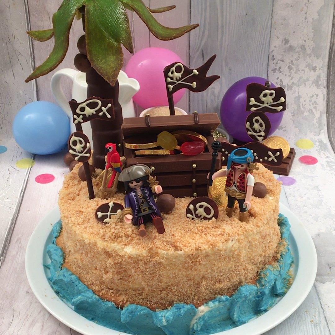Hidden Treasure Island Cake