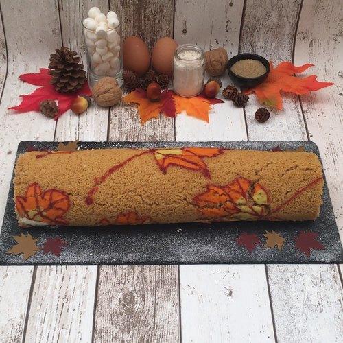 Gâteau roulé d'automne