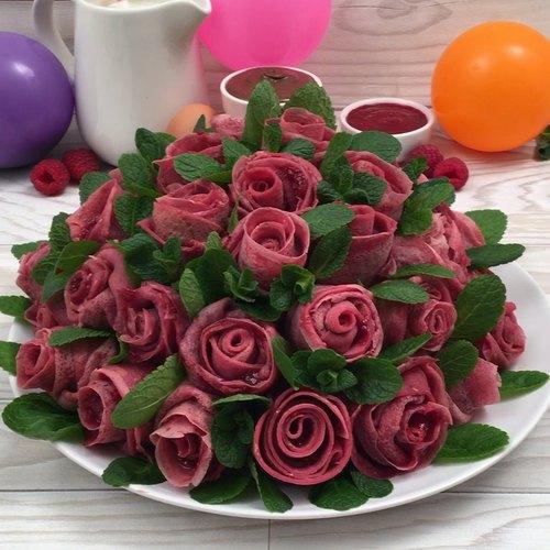 Pfannkuchen-Bouquet