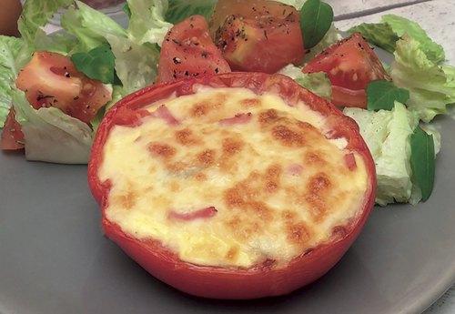 Überbackene Tomaten