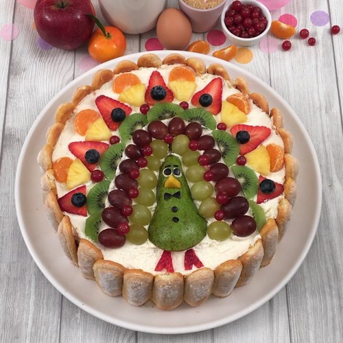 La paon tiramisu multi-fruits