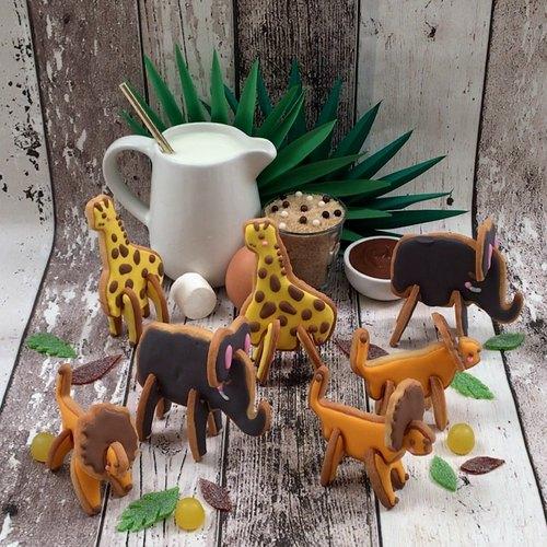 Les biscuits safari 3D