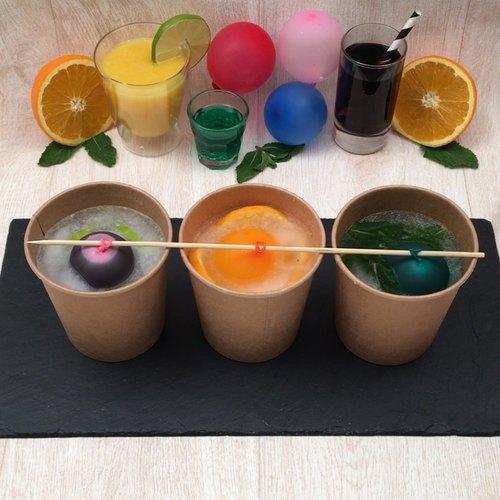 Cocktail in Eisgläsern
