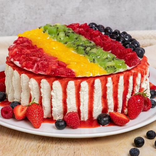 Gâteau fruité tout léger