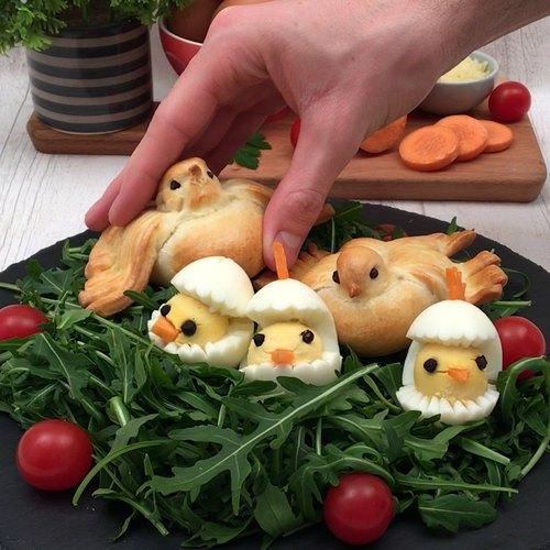 Les oiseaux gourmands
