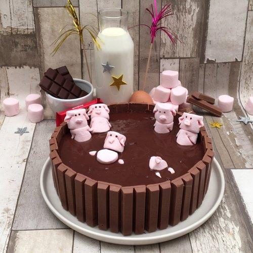 Gâteau cochon