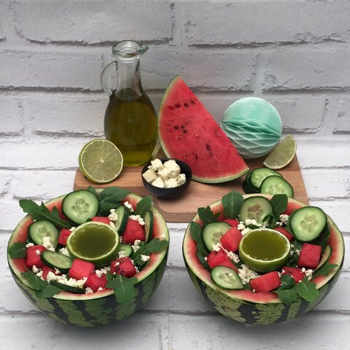 La salade pastèque