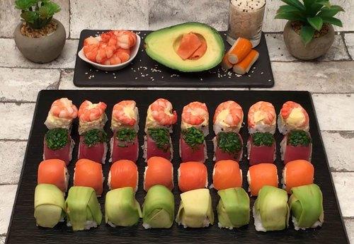 Les sushis cubes
