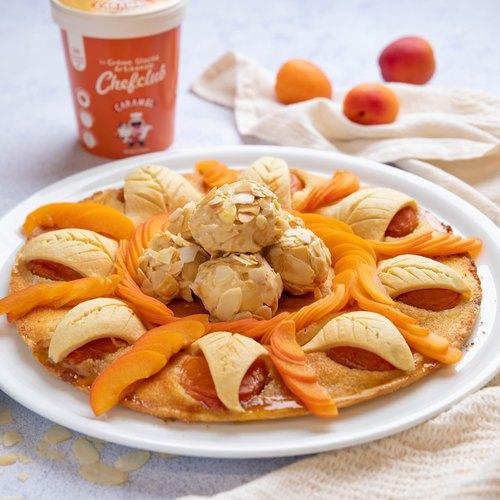 Tarte aux abricots deluxe