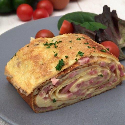 Roll-Omelett