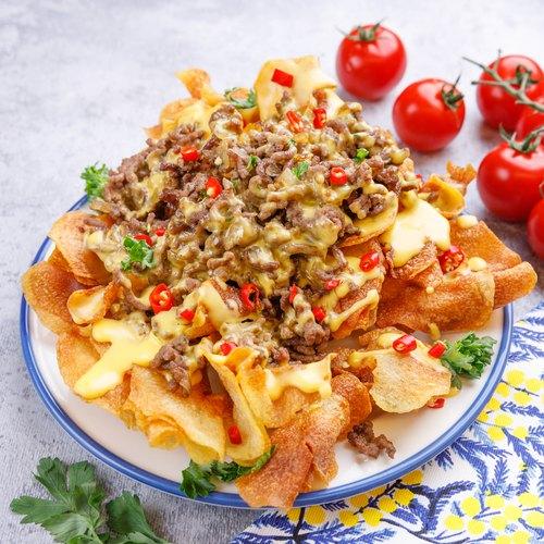 Potato Chip Nacho Platter