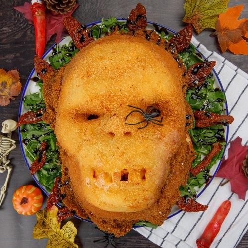 Loaded Halloween Skull