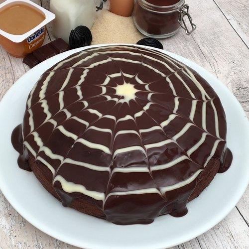 Spinnen-Kuchen