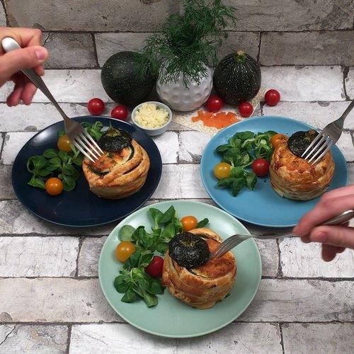 Lachs-Zucchini-Überraschung