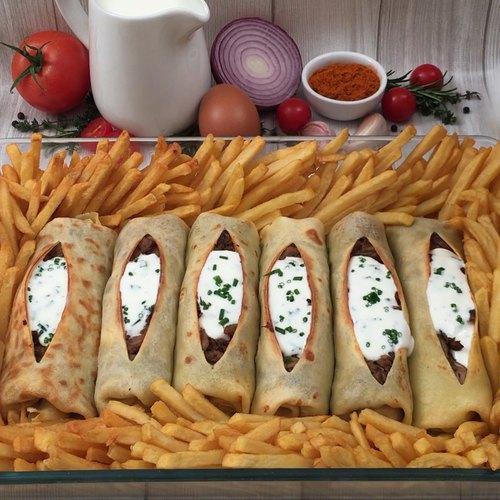 La crêpe kebab