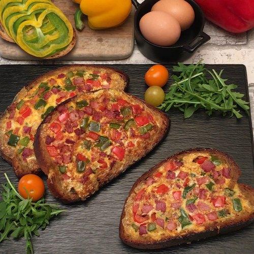 L'omelette tartine aux épices Chefclub