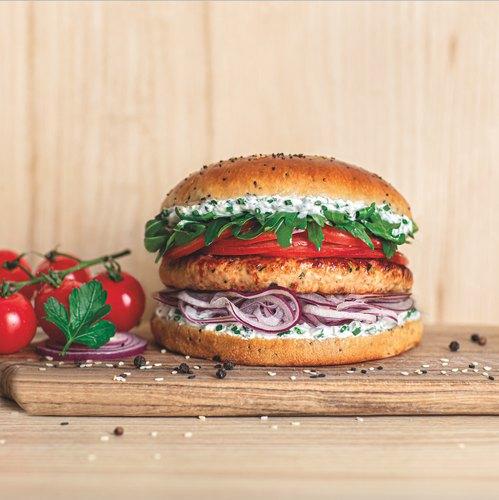 Le chicken burger aux épices Chefclub