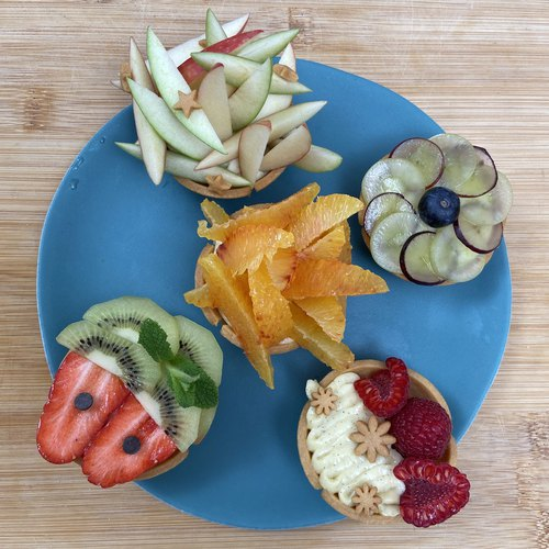 Mini-tartes aux fruits