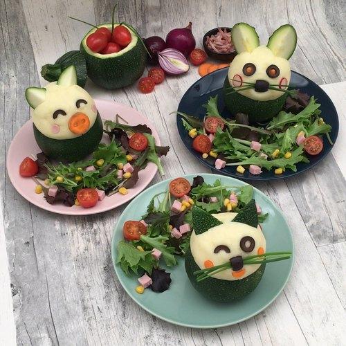 Zucchini-Tiere