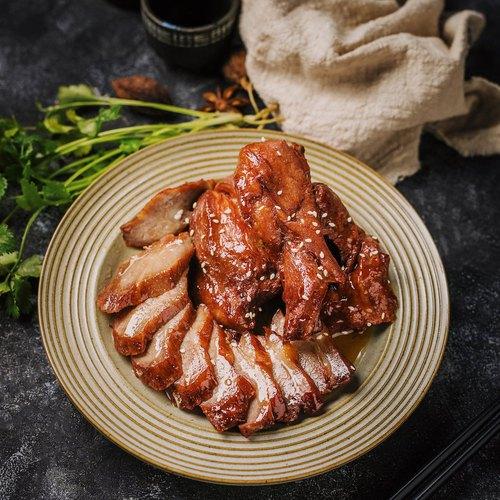 Carmelized honey pork