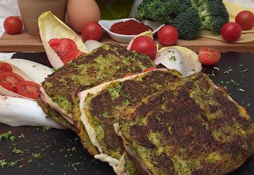 Sanduíche de brocolis