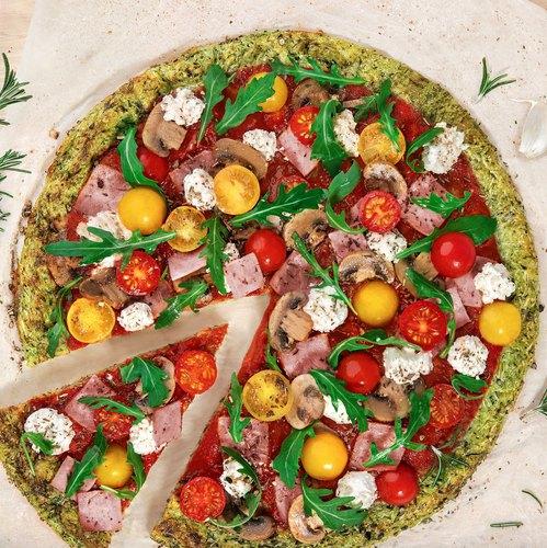 La courgette pizza aux épices Chefclub
