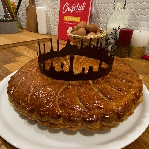 Tarta de chocolate y almendras reales!