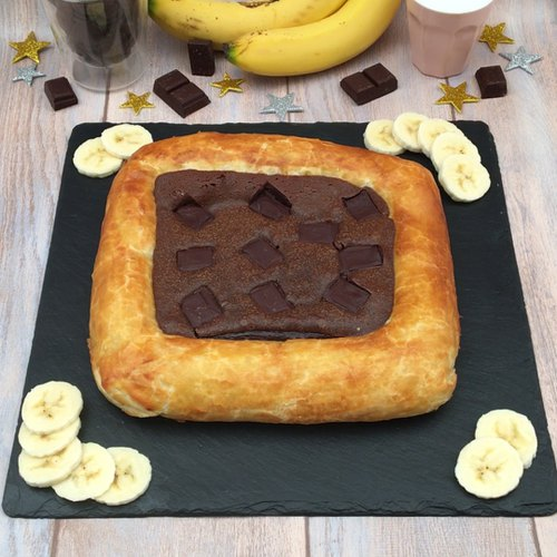 LE FONDANT CHOCOLAT-BANANE