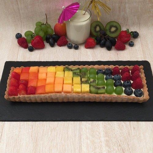Torta arco-íris