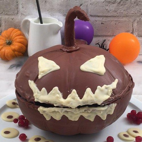 Calabaza chocolatosa de terror!