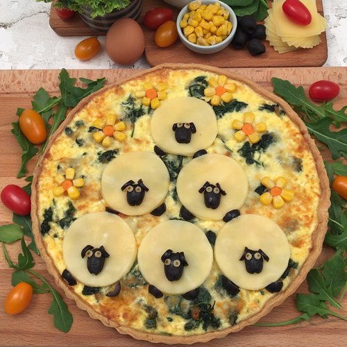 La quiche moutons