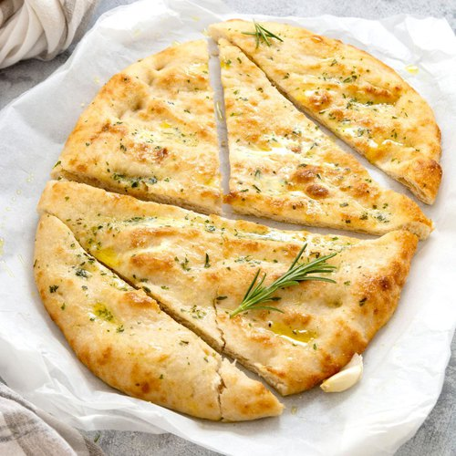 Focaccia with herbs