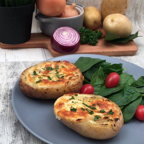 Patate soupe à l'oignon