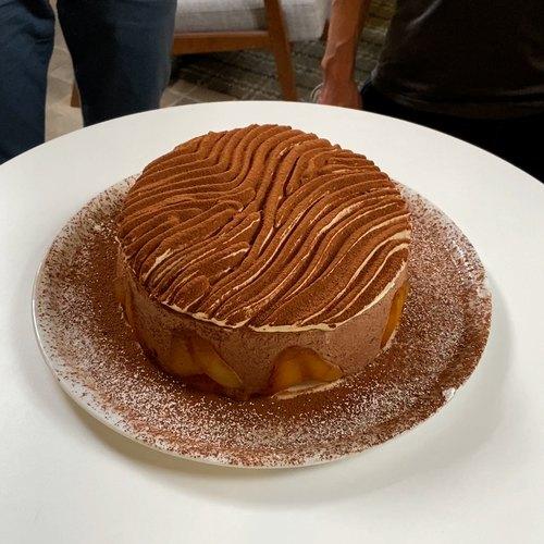 Gâteau poire Belle-Hélène