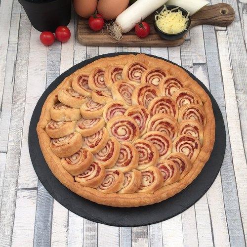 La tarte hypnotique bacon-poireaux