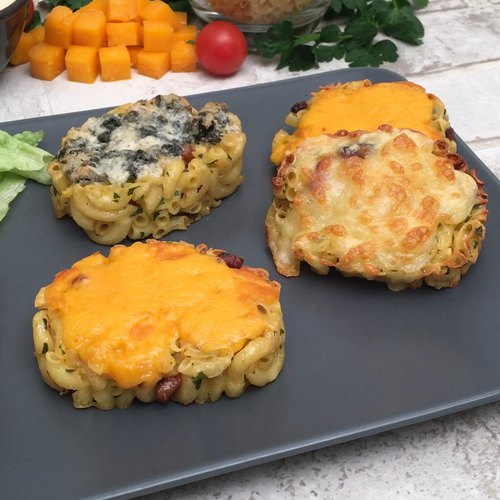 Les tartines de coquillettes aux épices Chefclub