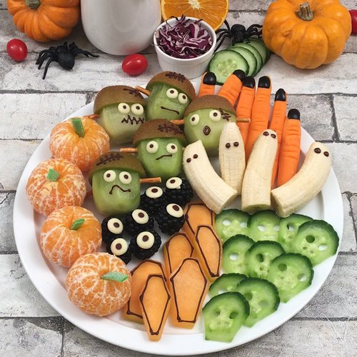 Petites recettes effrayantes d'Halloween