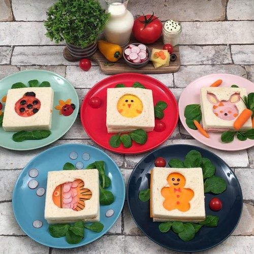 5 Überraschungs-Sandwiches