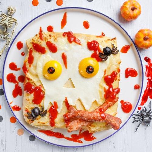 Zombie Breakfast Crepes