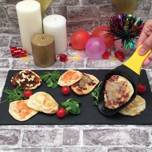 La flammekueche-raclette