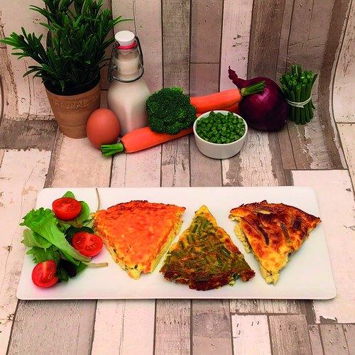 Torta 6 verdure light