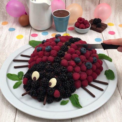 Marienkäfer-Kuchen