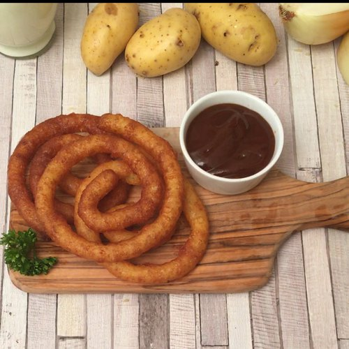 Les pommes de terre tourbillon