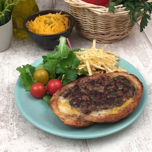 Burger-Toast
