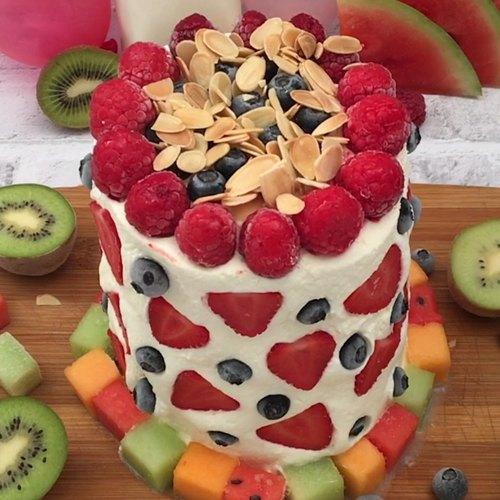 La torre de frutas