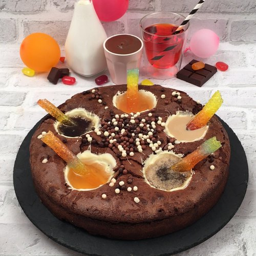 Gâteau chocolat cocktails
