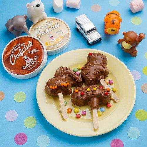 Kids Homemade Ice Cream