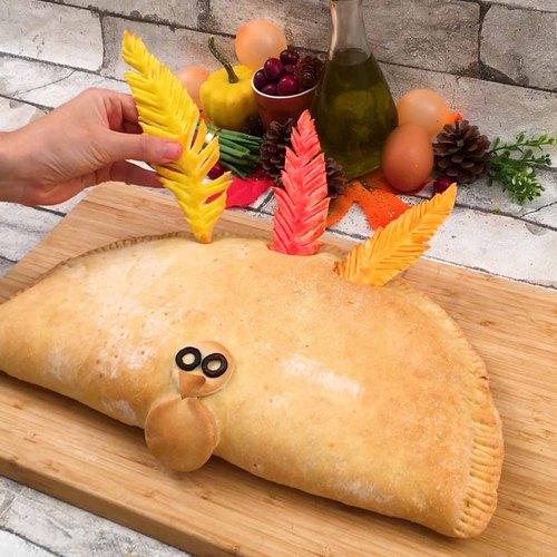 Thanksgiving Stuffed Bread